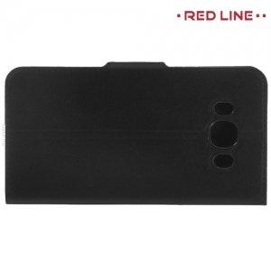 Red Line чехол книжка для Samsung Galaxy J5 2016 SM-J510 - Черный