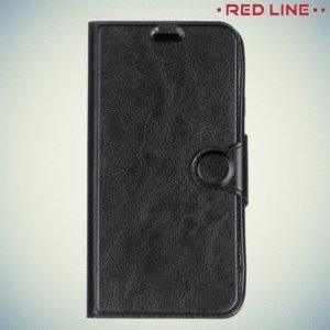 Red Line чехол книжка для Samsung Galaxy J7 2017 SM-J730F - Черный