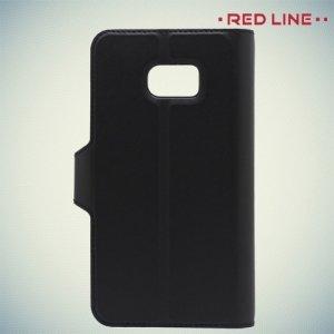 Red Line чехол книжка для Samsung Galaxy S7 - Черный