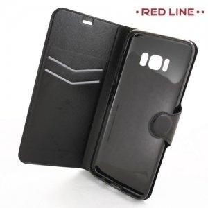 Red Line чехол книжка для Samsung Galaxy S8 - Черный