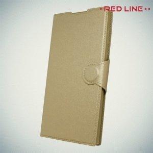 Red Line чехол книжка для Sony Xperia L1 - Золотой
