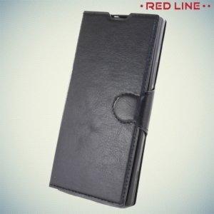Red Line чехол книжка для Sony Xperia XA1 - Черный