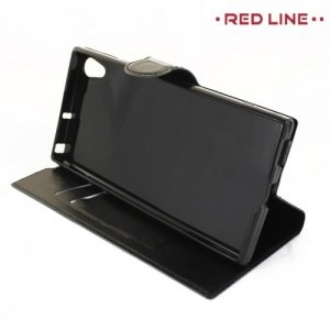 Red Line чехол книжка для Sony Xperia XA1 Ultra - Черный