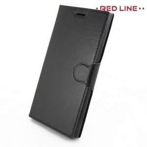 Red Line чехол книжка для Sony Xperia XZ Premium - Черный