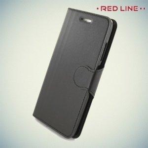 Red Line чехол книжка для Xiaomi Mi 6 - Черный
