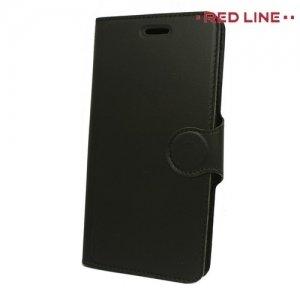 Red Line чехол книжка для Xiaomi Mi Note 3 - Черный