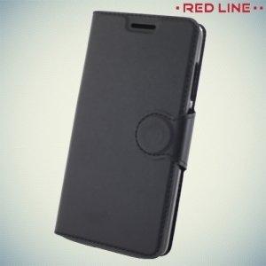 Red Line чехол книжка для Xiaomi Redmi 4 - Черный