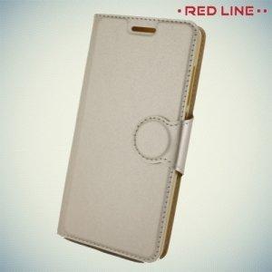 Red Line чехол книжка для Xiaomi Redmi 4 - Золотой