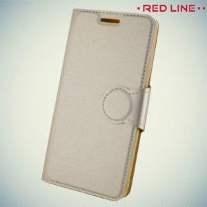 Red Line чехол книжка для Xiaomi Redmi 4 Pro / Prime - Золотой