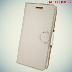 Red Line чехол книжка для Xiaomi Redmi Note 4 - Золотой