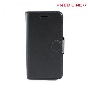 Red Line чехол книжка для Xiaomi Redmi Note 4 - Черный
