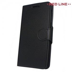 Red Line Flip Book чехол для Alcatel 3 5052D - Черный