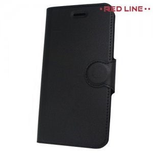 Red Line Flip Book чехол для Huawei Honor 7A / Y5 Prime 2018 - Черный