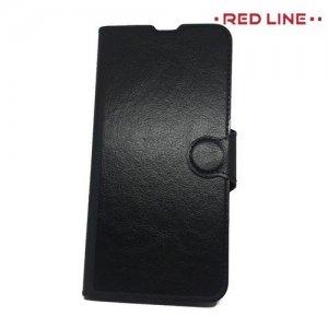 Red Line Flip Book чехол для Huawei Honor View 20 (V20) - Черный