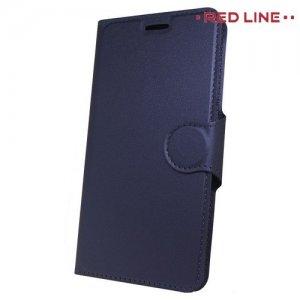 Red Line Flip Book чехол для Huawei P Smart - Синий