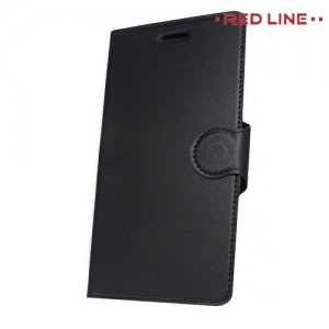 Red Line Flip Book чехол для Nokia 7 Plus - Черный