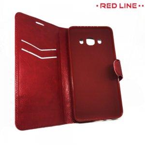 Red Line Flip Book чехол для Samsung Galaxy J5 2016 SM-J510 - Красный