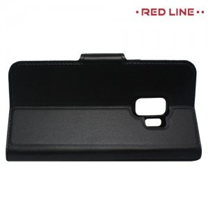 Red Line Flip Book чехол для Samsung Galaxy S9 - Черный