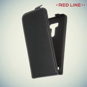 Red Line чехол флип для ASUS Zenfone 2 Lazer (Laser) ZE500KL ZE500KG - Черный