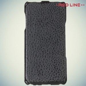 Red Line флип чехол для Samsung Galaxy A7 2016 SM-A710F - Черный