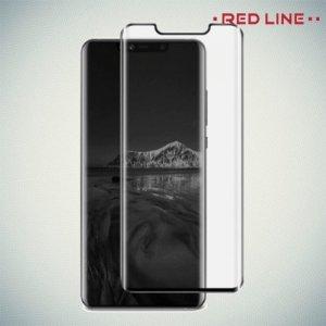 Red Line Full Glue 3D стекло для Huawei Mate 20 Pro с полным клеевым слоем - Черная рамка