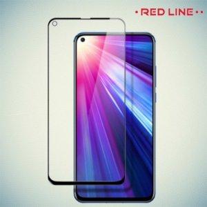 Red Line 3D Full Glue стекло для Huawei Honor View 20 (V20) с полным клеевым слоем - Черная рамка