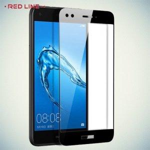 Red Line Full Glue стекло для Huawei Nova lite 2017 с полным клеевым слоем - Черная рамка