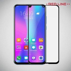 Red Line Full Glue 3D стекло для Huawei P Smart 2019 с полным клеевым слоем - Черная рамка