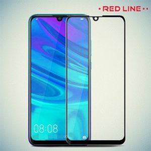 Red Line Full Glue стекло для Huawei Y9 2019 с полным клеевым слоем - Черная рамка