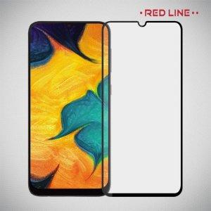 Red Line Full Glue стекло для Samsung Galaxy A40 с полным клеевым слоем - Черная рамка