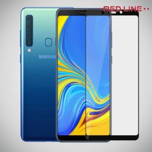 Red Line Full Glue стекло для Samsung Galaxy A9 2018 SM-A920F с полным клеевым слоем - Черная рамка