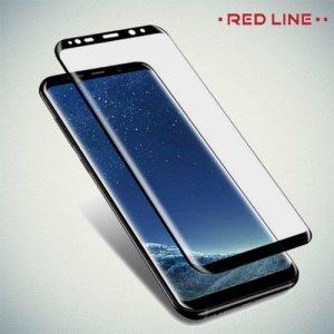 Red Line Full Glue стекло для Samsung Galaxy S9 Plus с полным клеевым слоем - Черная рамка
