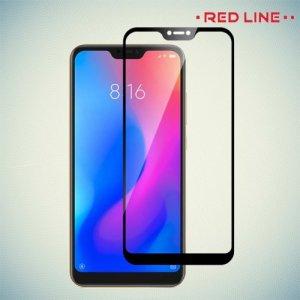 Red Line Full Glue стекло для Xiaomi Mi 8 Lite с полным клеевым слоем - Черная рамка