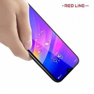 Red Line Full Glue стекло для Xiaomi Redmi 7 с полным клеевым слоем - Черная рамка