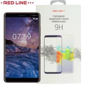 Red Line Гибридная защитная пленка для Nokia 7 Plus