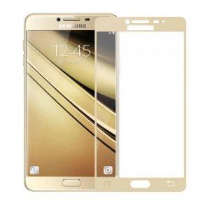 RED LINE Олеофобное Закаленное Защитное Стекло для Samsung Galaxy J7 2017 SM-J730 золотое