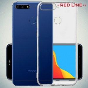 Red Line прозрачный силиконовый чехол для Huawei Honor Y6 Prime 2018 / 7A Pro / 7C