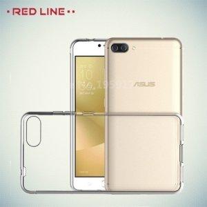 Red Line силиконовый чехол для Asus Zenfone 4 Max ZC520KL - Прозрачный