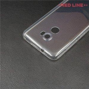 Red Line силиконовый чехол для HTC One X10 - Прозрачный