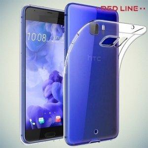 Red Line силиконовый чехол для HTC U Ultra - Прозрачный