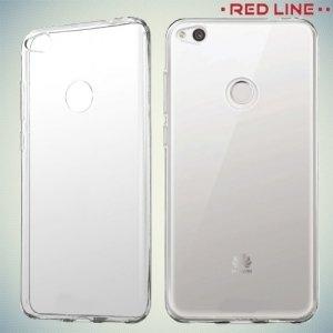 Red Line силиконовый чехол для Huawei Honor 8 lite - Прозрачный