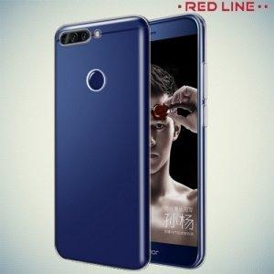 Red Line силиконовый чехол для Huawei Honor 8 Pro - Прозрачный