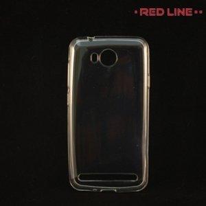 Red Line силиконовый чехол для Huawei Y3 II - Прозрачный