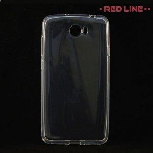 Red Line силиконовый чехол для Huawei Y5 II / Honor 5A - Прозрачный