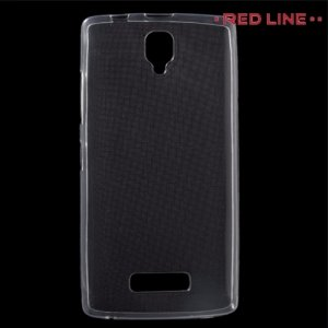 Red Line силиконовый чехол для Lenovo A2010 - Прозрачный
