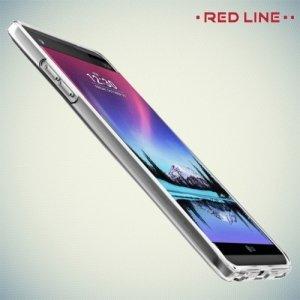 Red Line силиконовый чехол для LG K10 2017 M250 - Прозрачный