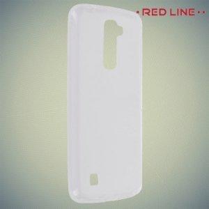 Red Line силиконовый чехол для LG K10 K410 K430DS - Прозрачный