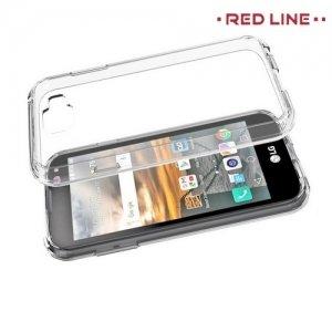 Red Line силиконовый чехол для LG K3 2017 - Прозрачный