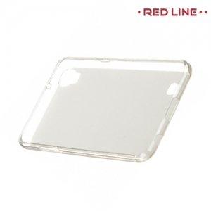Red Line силиконовый чехол для LG X Power K220DS - Белый полупрозрачный