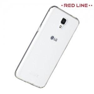 Red Line силиконовый чехол для LG X view - Прозрачный